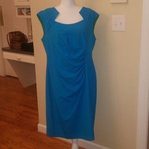 Calvin Klein blue professional dress 16W